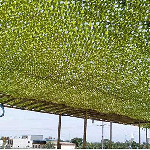 GDMING Shading Net Outdoor Activity Shootout Thin and Light Durable Multipurpose Oxford Cloth, 38 Sizes (Color : Green, Size : 6x12m) by GDMING-Sunshading Net (Image #1)