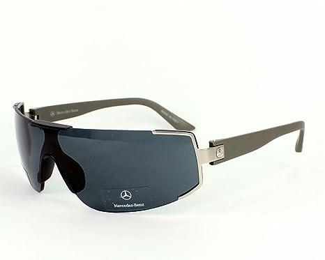 beb3e8738c9 Mercedes sunglasses M 1012 A Metal Grey Grey  Amazon.co.uk  Clothing