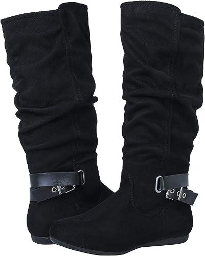 GLOBALWIN Women's 18YY30 Black Fashion Boots 9M
