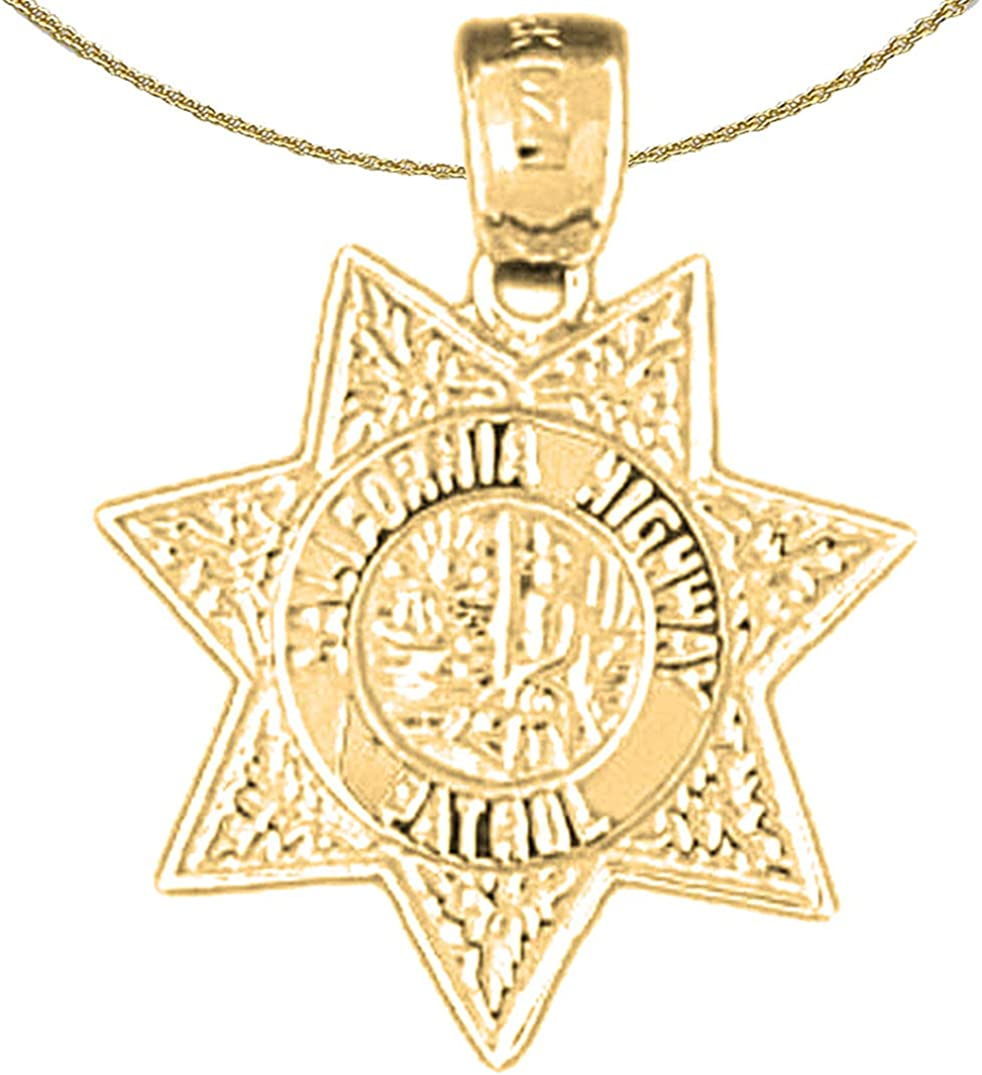 Jewels Obsession I Love California Necklace 14K Rose Gold-plated 925 Silver I Love California Pendant with 18 Necklace