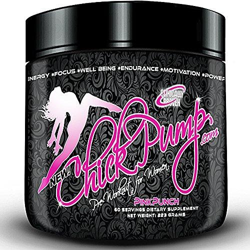 Le meilleur entraînement pré au Supplément de régime femmes Chick pompe de pré-entraînement pour la perte de poids des femmes Meilleur preworkout Energy!