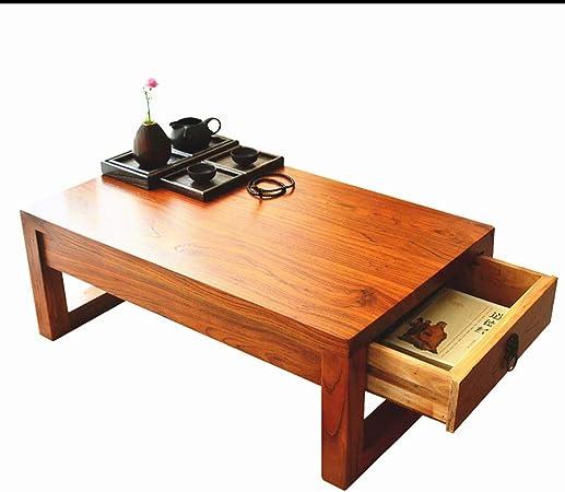 Muebles y Accesorios de jardín Mesas Sala de Mesa de café de Madera sólida de múltiples