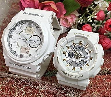 117422ebbf Amazon | カシオ CASIO 腕時計 G-SHOCK&BABY-G ペアウォッチ 恋人たちのG ...