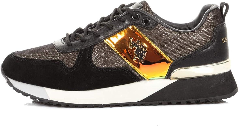 USPOLO ASSN. Tabitha3 Shiny, Zapatillas de Gimnasia para Mujer