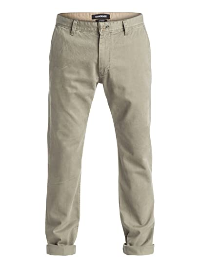 330aa3930 Image Unavailable. Image not available for. Color: Quiksilver Mens Everyday  Chino'16 Pants 29 Dusty Olive