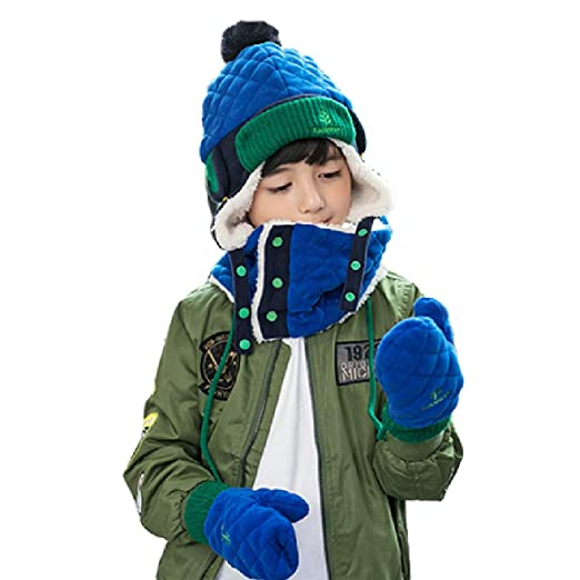Winter Hat Fleece Lined Waterproof snow Kids children girls chin strap  Toddler 8593501750a