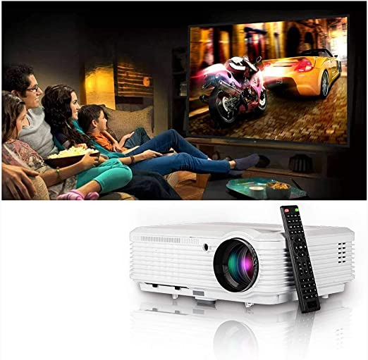 AI LIFE Proyector de Video Multimedia con entradas USB HDMI ...