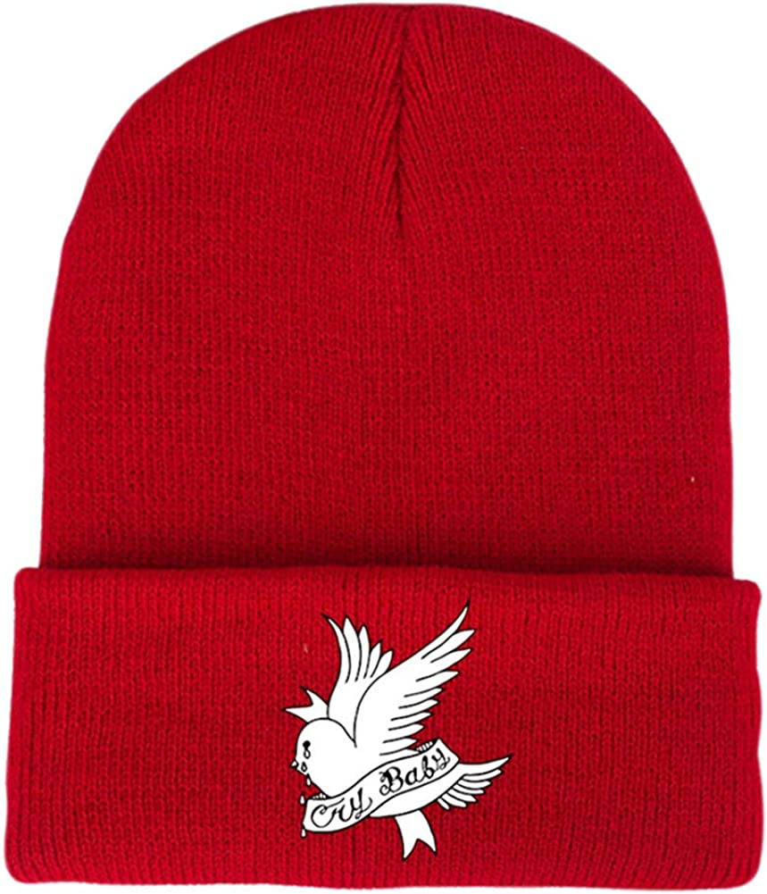 Love Between Two Birds Unisex Fashion Knitted Hat Luxury Hip-Hop Cap