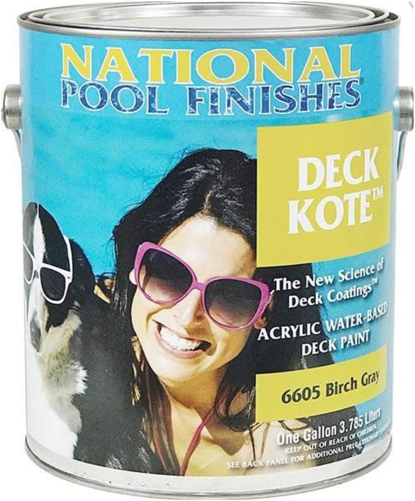 National Pool Finishes Deck Kote