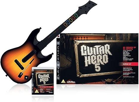 Activision - Juego de Guitar Hero (guitarra y juego): Amazon.es ...