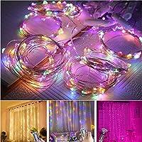 Afstandsbediening Waterdichte Gordijn Lamp String LED Decoratie Licht