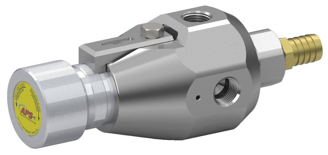 15K J//S Type Pressure Regulating Valve Advanced Pressure Systems 65-110-015 Assembly