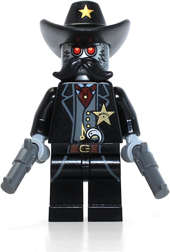 LEGO The Movie Minifigure: Sheriff Not A Robot by LEGO: Amazon.es: Juguetes y juegos