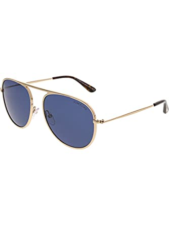 Amazon.com: Tom Ford FT0621-28V-57 - Gafas de sol para ...