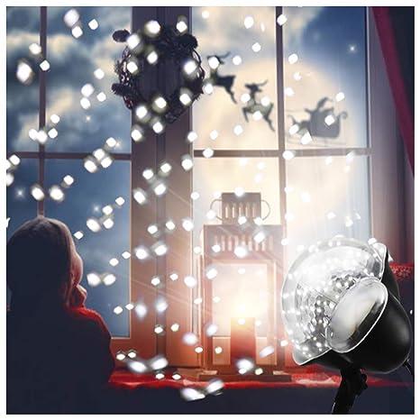 Luces de Proyector de Navidad,Luz del paisaje de LED Efecto Luz ...