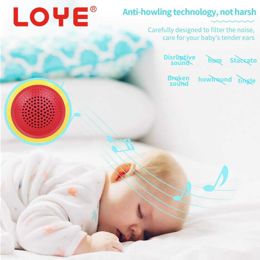 LOYE Wireless Bluetooth Karaoke Microphone Magic Sound for Kids Toddles Baby Child Children 2 in 1 Portable Handheld Home Party Speaker with TF Card Birthday New Year by LOYE (Image #6)