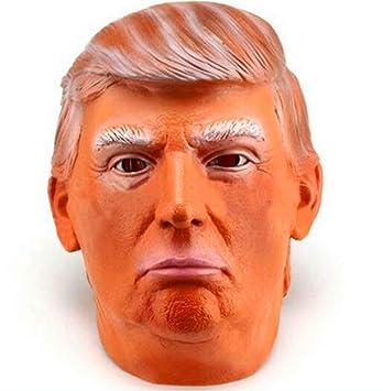 Presidente De Los Estados Unidos Donald Trump Máscara De Látex Candidato Presidencial Republicano Político Multimillonario,