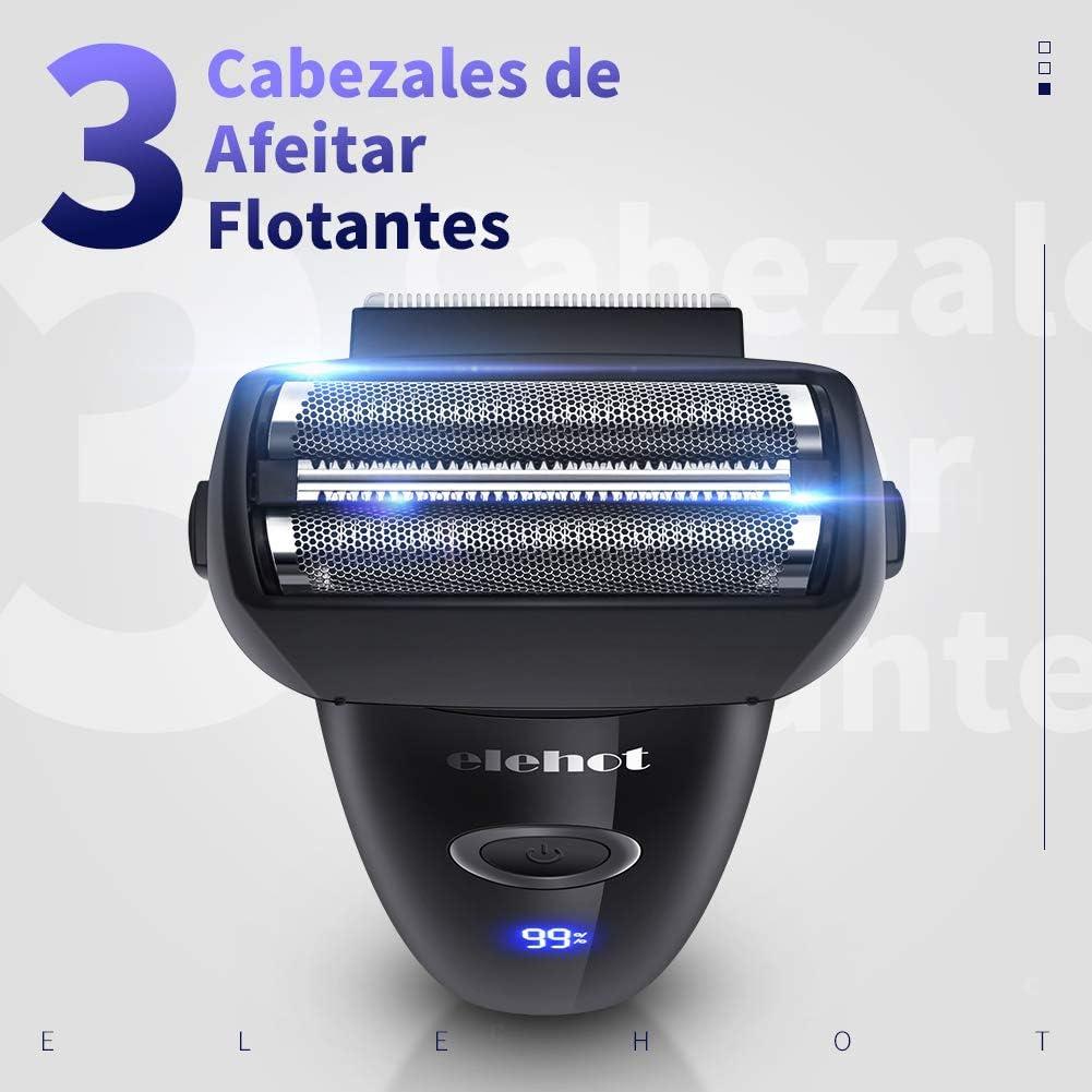 ELEHOT Afeitadora Elétrica de lámina Máquina de Afeitar para ...