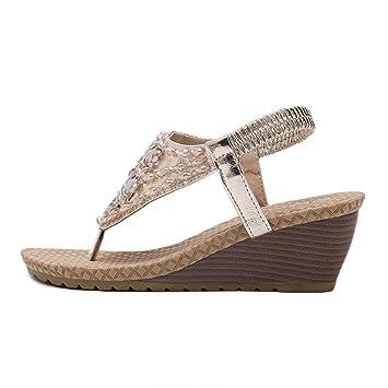 Sandale Talon Femme Chaussures À Compensé Bas Sandales Prix XZukiPOT