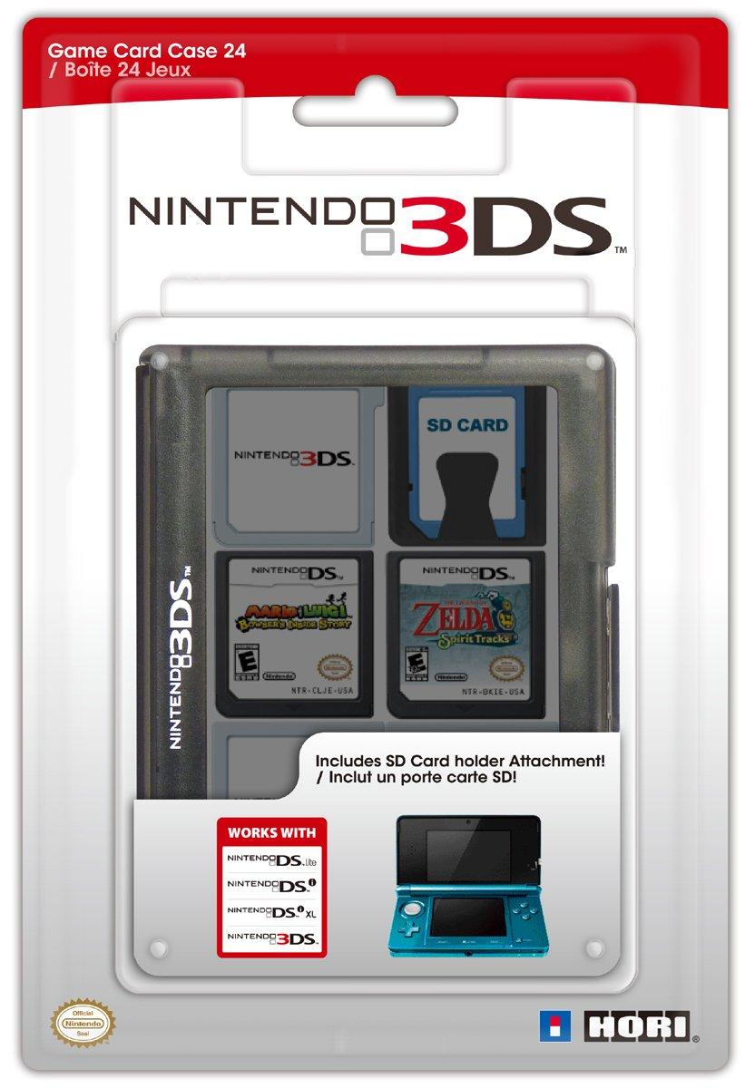 Hori - Game Card Case 24, Color Negro (Nintendo 3Ds): Amazon.es ...