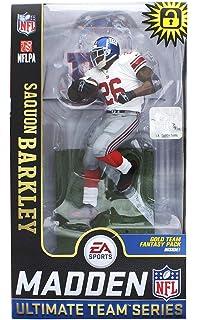 d6893a07 McFarlane Toys EA Sports Madden NFL 19 Ultimate Team SAQUON Barkley York  Giants