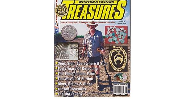 Western & Eastern Treasures Magazine August 2016: Amazon.com ...