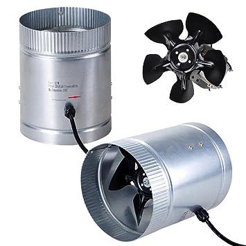 Yescom 6u0026quot; Inline Duct Booster Fan 260CFM Cooling Exhaust Blower for Indoor Home Grow Tent  sc 1 st  Amazon.com & Amazon.com: Yescom 6