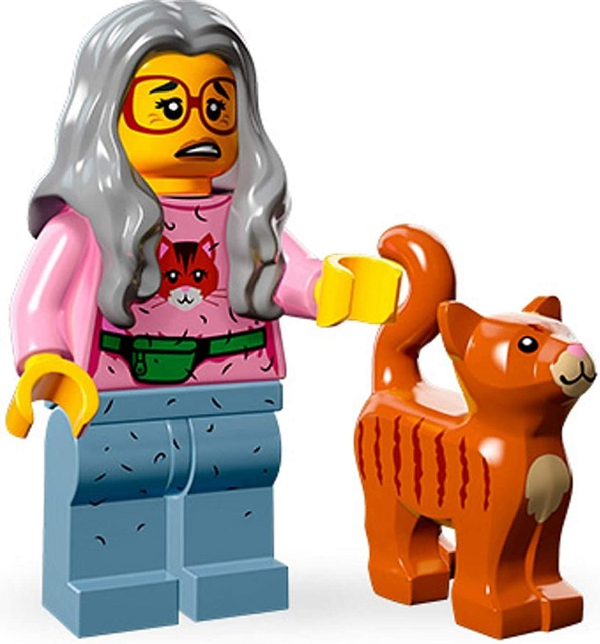 LEGO The Movie Minifigure Series Mrs. Scratchen-Post Cat Lady 71004-6
