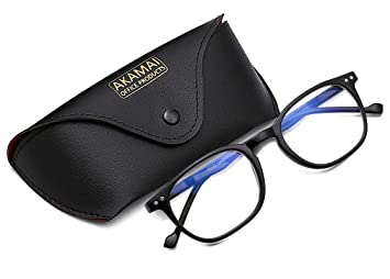 Amazon.com: Akamai Gafas de bloqueo de luz azul, para hombre ...