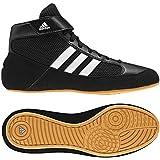 adidas Men's Boy's HVC2 Wrestling Mat Shoe Ankle Strap 2 Colors AQ3325