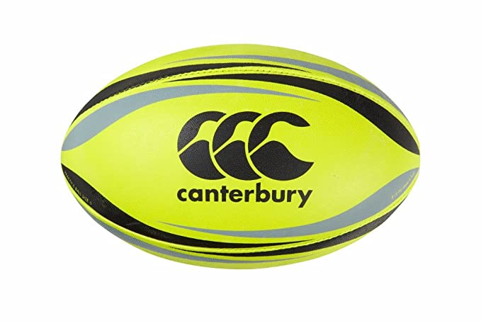 Canterbury CCC - Pelota de Rugby, Color Amarillo, tamaño 5: Amazon ...