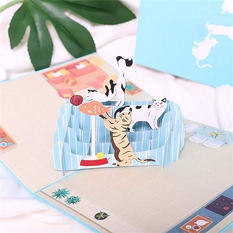 Amazon.com: Tarjeta 3D desplegable. Detalles sobre la ...