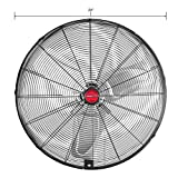 OEM Tools 24' Oscillating Wall Mount Fan