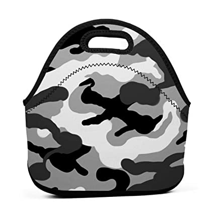 962d3f11265a Amazon.com - ONUPMIN Ideal Gifts - Insulated Lunch Bag Army ...