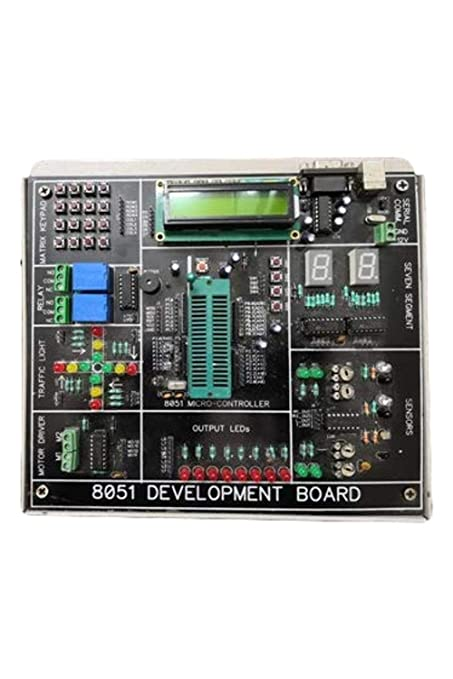 Generic 8051 Microcontroller Trainer Kit with 13: Amazon in