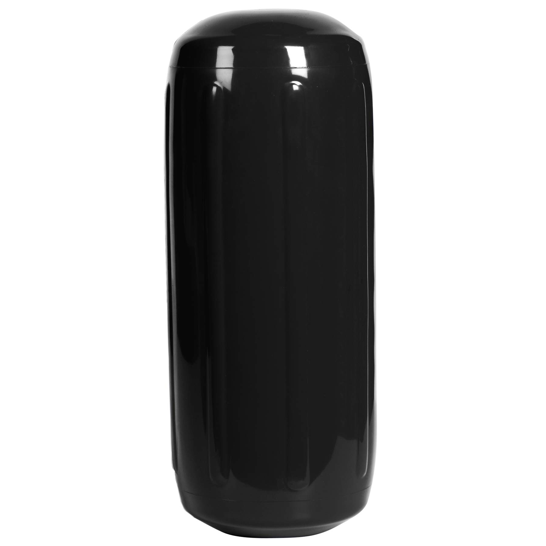 Dockmate Hole-Through-The-Middle Fender, 8'' X 20'' Black by Dockmate