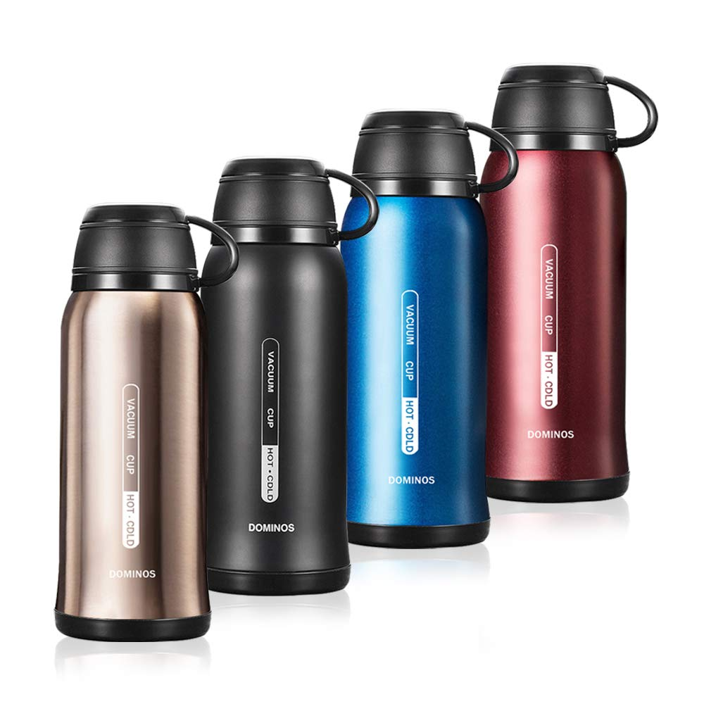Adecuado para Bebidas Calientes como caf/é y t/é Frascos de Acero Inoxidable Libre de BPA Y/·J/&H Frasco de vac/ío Botella aislada con Taza