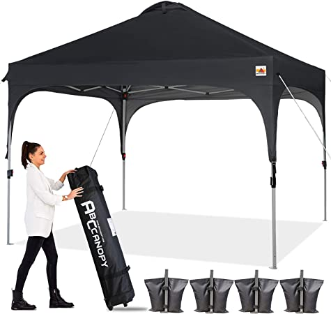 Big 8-10 Person Canopy Tent w// Carrying Bag Outdoor Camping Picnic Beach Shelter