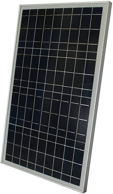 30 W Watt 30W Solar Panel 12V Volt Battery RV Gate Boat Off Grid COMPLETE KIT