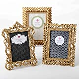 gold picture frames Gold Vintage Baroque Ornate Antique Picture Frames ~ Set of 3 Frames for 4 x 6 inch Photos~ Perfect for Wedding Vacation Graduation Or Any Milestone Photo