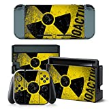 Gam3Gear Vinyl Decal Protective Skin Cover Sticker for Nintendo Switch Console & Controller – Caution