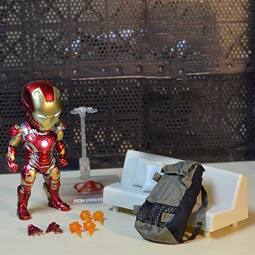 Decddae Marvel Avengers Iron Man Modelo Iluminado Mano ...