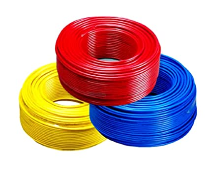 buy v guard pvc 1 sq mm 90 m house wire (black) online at low prices House Wiring Outlets