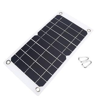 nuzamas poartable 7,5 W Panel Solar 5 V USB cargador del ...