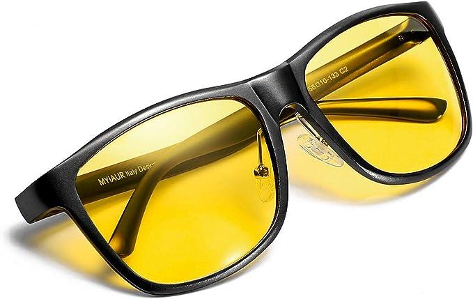 Myiaur gafas de sol polarizadas para mujeres y hombre de los deportes de la moda para la conducción/la pesca al aire libre 100% protección UVA UVB