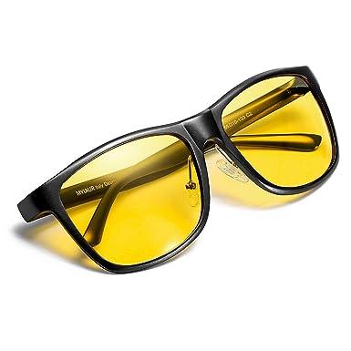 Myiaur Gafas De Sol Amarillas Conducir Nocturnas para Hombre ...