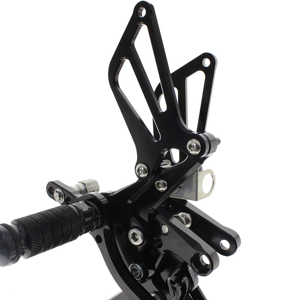 Krace Motorcycle Rearsets Footpegs Footrest Pedal For suzuki SV650//SV650S SV1000//S 1998-2014