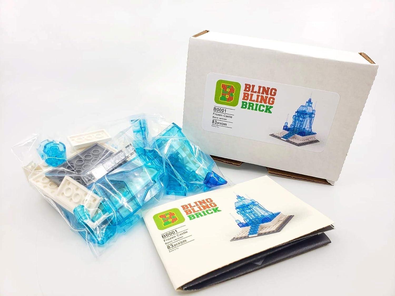 Custom Build Set Frozen Castle BlingBlingBrick Basic Version Bricks
