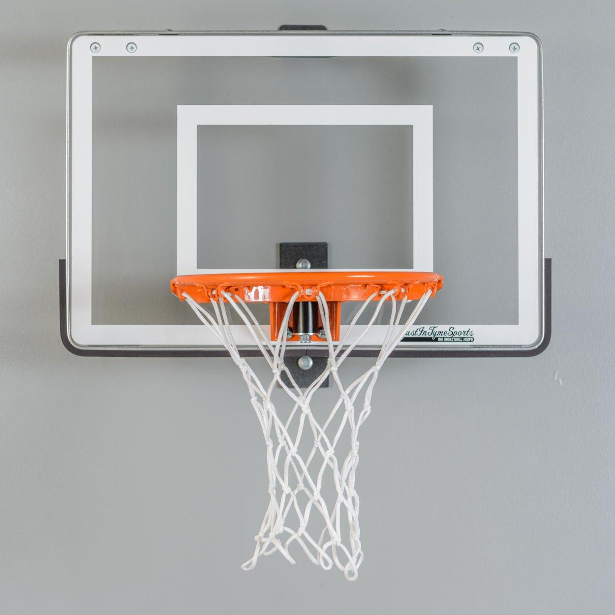 Amazon.com : Wall Mounted Mini Basketball Hoop - Mini Pro 1.0 : Wall ...