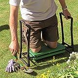 """Gardman R616 Fold Away Garden Kneeler and Seat, 22"""" Long x 11"""" Wide x 19"""" High"""
